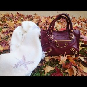 Balenciaga Mini City Wine